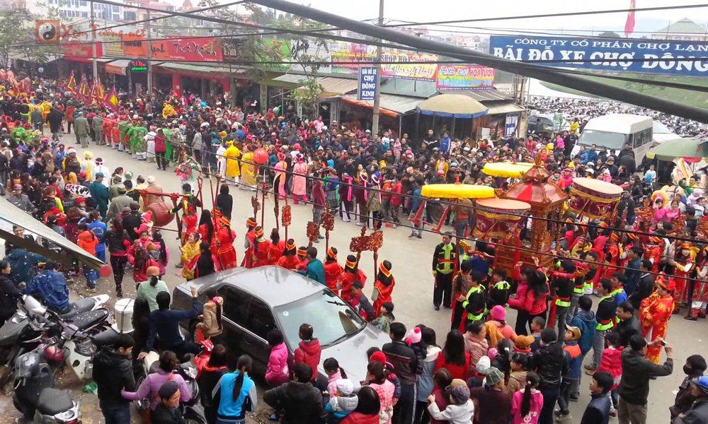 Các lễ hội ngày 22 tháng 1 Âm Lịch - Hội Đền Kỳ Cùng(Tả Phủ)