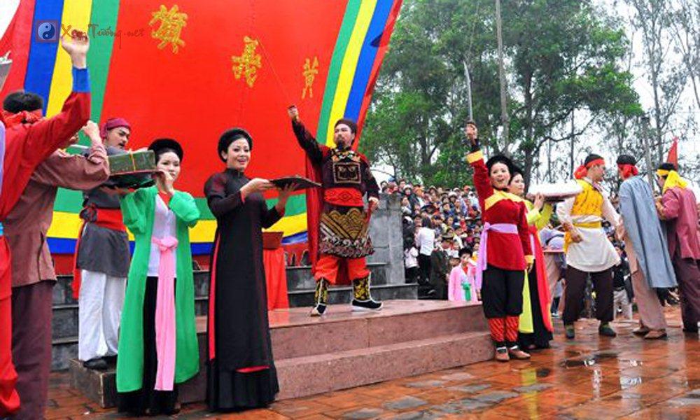 Các lễ hội ngày 22 tháng 2 Âm Lịch - Hội Đình Trúc Tay