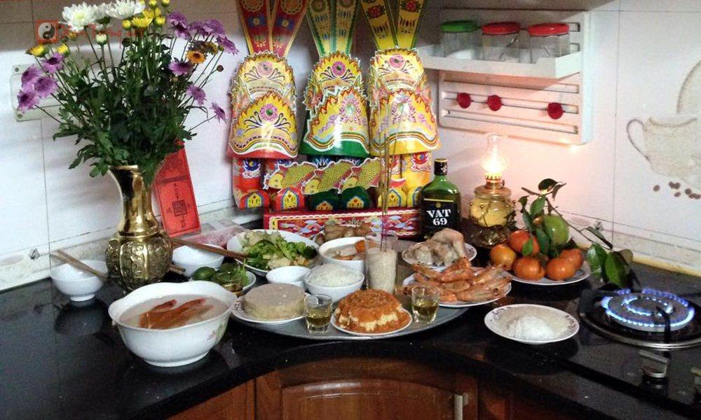 Các lễ hội ngày 23 tháng chạp -Cúng Ông Táovà Hội Thái Dương