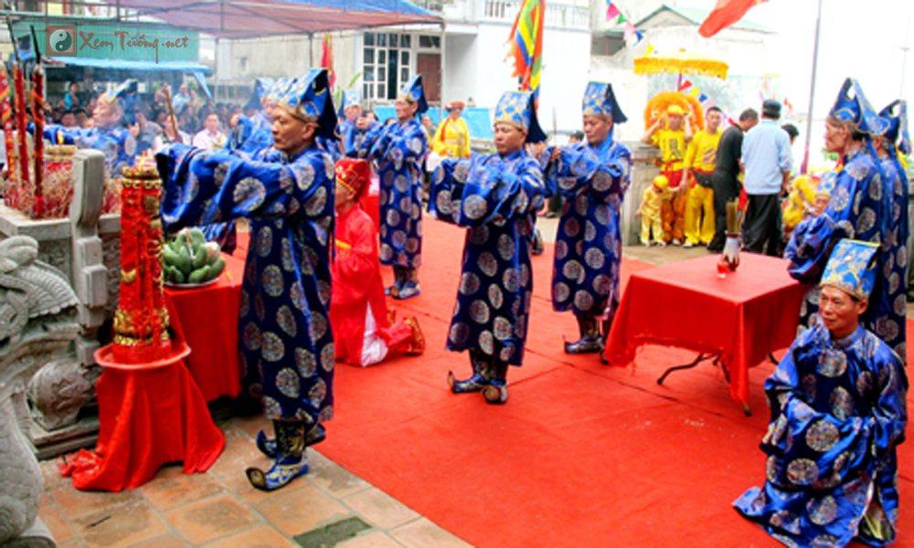 Các lễ hội ngày 24 tháng 3 Âm Lịch - Hội Đền Đức Ông