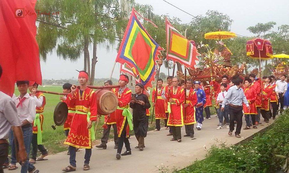Các lễ hội ngày 8 tháng 1 Âm Lịch - Hội cướp cầu, Hội Đền Bắc Cung