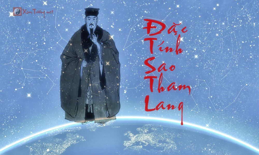 Đặc tính sao Tham Lang - thuộc tính âm thủy