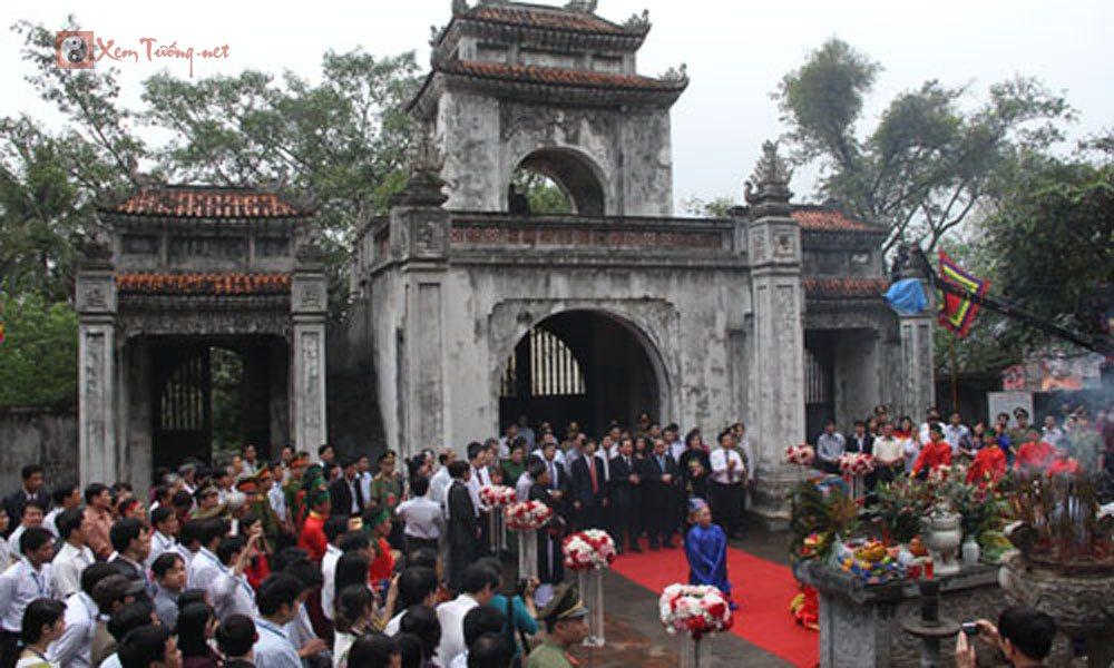 Lễ hội diễn ra trong ngày 20 tháng 2 âm lịch - Hội Bà Triệu