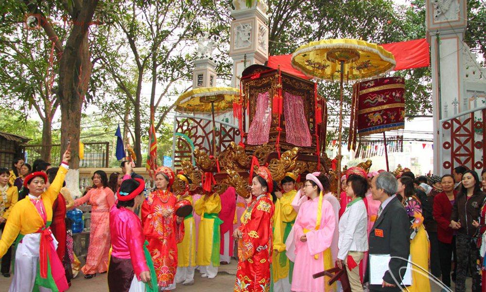 Lễ hội ngày 11 tháng 2 âm lịch - Hội Đình Kim Giang