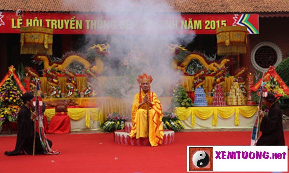 Lễ hội ngày 26 tháng 9 âm lịch - Hội Đền An Sinh