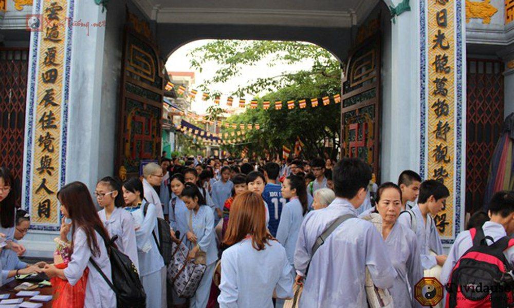 Lễ hội trong ngày 20 tháng 10 âm lịch - Hội Chùa Vẽ