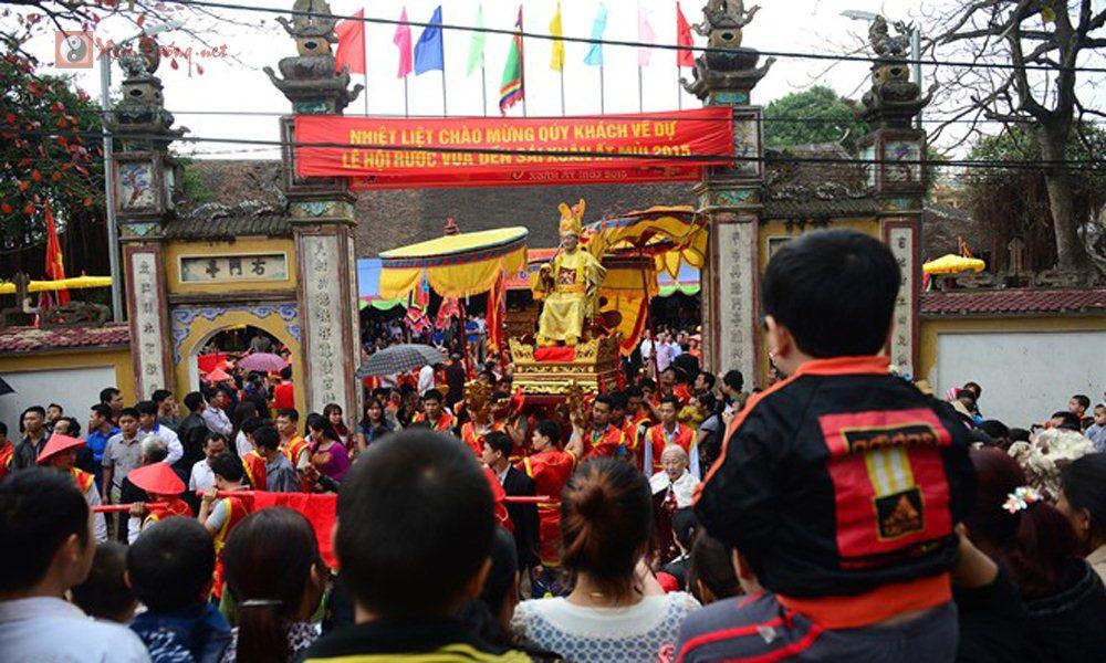 Những lễ hội tổ chức vào ngày 11 tháng 1 âm lịch - Hội Phong Chúa