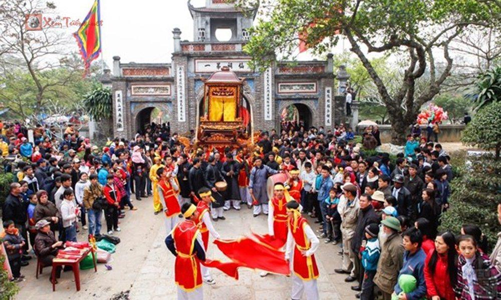 Những lễ hội tổ chức vào ngày 12 tháng 1 âm lịch - Hội Làng Quậy