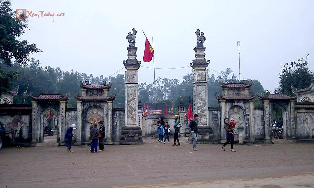Những lễ hội tổ chức vào ngày 19 tháng 1 âm lịch - Hội Đền Qủa Sơn