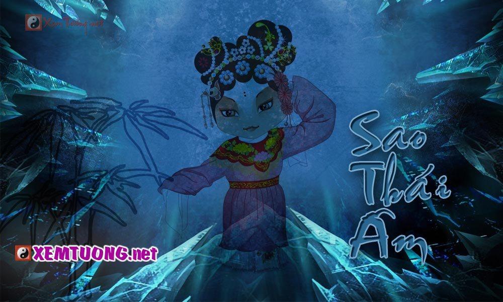 Ý nghĩa sao Thái Âm - Tượng trưng cho người mẹ và vợ
